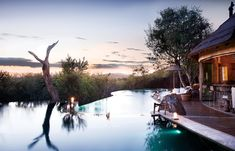 Editors' Picks: The Best Safari Lodges and Camps in Africa - Condé Nast Traveler Tanzania, Wilderness Resort, Reserva Natural, Game Lodge, Open Air, Outdoor Bathrooms, Hotel Services, Modern Pools, Villa