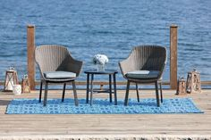 Wicker Furniture- Great Accent - Wicker Home Furniture Outdoor Wicker Furniture, Home Furniture, Outdoor Spaces, Outdoor Decor, Front Porch, Rattan, 3 Piece, Sweet Home, Balcony