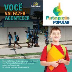 Panfleto Educação Campanha de Participação popular