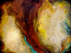 """Exodus: Out from the Raging Fire"" Acrylic on Canvas, 40w x 30h, gallery wrapped canvas by Laura Swink $1300.00"