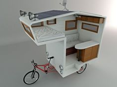 3. Bicycle Campers | Most Incredible Mobile Homes | EarthTripper| Page 1
