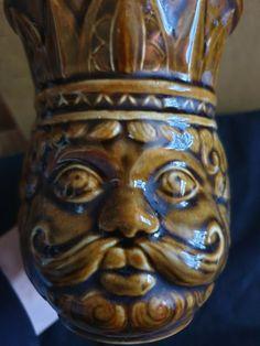 Vintage USSR Soviet Russia Porcelain Mug Pushkin fairy tale The Golden Cockerel