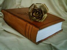 vintage tapas para libros personalizados objetos de cuero