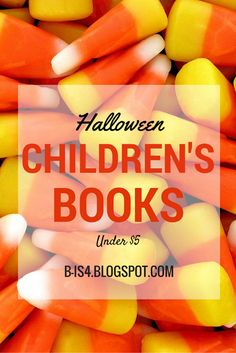 Halloween Children's Books Under $5 with book titles/characters that include: Winnie the Pooh, Dora, Arthur, Angelina Ballerina, Clifford the Big Red Dog and more!