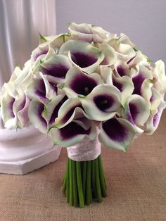 Picasso Calla Lily Bridal Bouquet