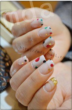 pop dots !の画像 | 銀座deネイル★M.D.A NAiLのブログ