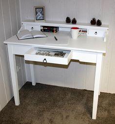 Schreibtisch vintage weiß  Billig sekretär schreibtisch weiß | Deutsche Deko | Pinterest ...