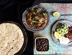 Vegetable Fajitas Platter – Diabetes Friendly Thursdays | simplyvegetarian777