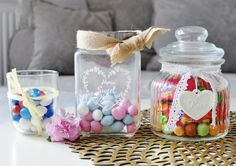 candy, m&m's, design, colours, słoiki, słodycze