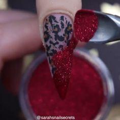 Inspiring nail art by @sarahsnailsecrets Winter Nail Art, Winter Nails, Make Up Time, How To Make, Cute Nails For Fall, Pretty Nail Art, Love Nails, Nail Arts, Claws