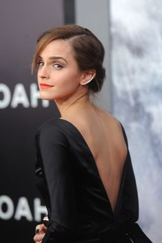 When she made us want a backless dress and ear cuff so badly it physically hurt. | 19 Times Emma Watson Made You Wish You Were Emma Watson