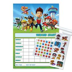 Paw Patrol Reward Chart   Coloring pages   Potty training ...