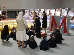 Otro grupo de infantil del colegio Reinado Corazón de Jesús, de Valladolid, con @museoscastyleon