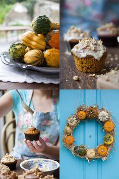 Maple Glazed Spiced Pumpkin Muffins...
