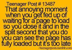 Stupid moment