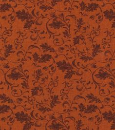 Autumn Inspirations Pumpkin Scribbles Fabric, Fall Fabric, Cotton Fabric, Brown Fabric, Pumpkin Pattern, Autumn Fabric, Craft Fabric, Yards by UniqueFlowerChic on Etsy