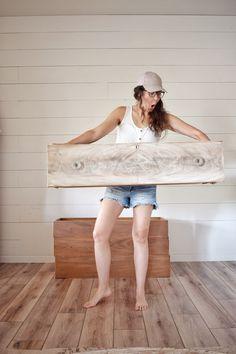Stripping Furniture, Furniture Update, Furniture Repair, Diy Furniture Projects, Furniture Makeover, Wood Furniture, Homemade Bleach, Distressed Furniture Painting, Vintage Porch