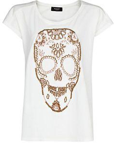 SALE! MANGO Skull T-Shirt