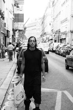 rick-owens: rick should be the inspiration for all people who think they look ugly he isn't the best looking guy, in fact he's on the ugly side. but with the help of style, getting into shape, and having a positive attitude, he's managed to look amazing if rick can do it so can you