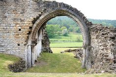 Kirkham Priory, founded in the 1120s, is between the city of York and the town of Malton in North Yorkshire, England.