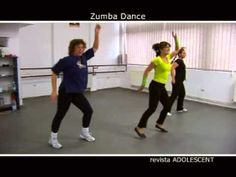 A fun zumba workout