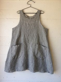 100 Acts of Sewing - Dress 38 in linen, Sonya's own pattern