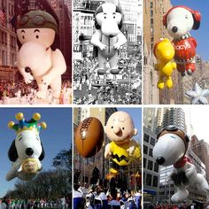Snoopy - Macy's Thanksgiving Day Parade balloons