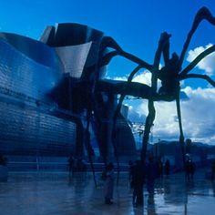 Museo Guggenheim Bilbao, viajes de arquitectura