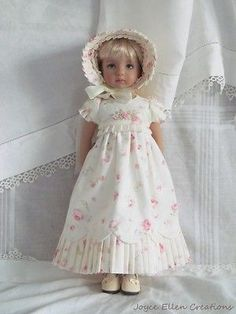 13-Effner-Little-Darling-BJD-fashion-Rose-cream-Regency-OOAK-handmade-by-JEC. Ends 10/19/14. SOLD for $189.51.