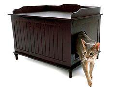 Cool Cat Tree Plans: Discreet Litter Box Furniture Reviews