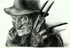 Freddy Krueger portrait by Ashiwa666.deviantart.com on @deviantART