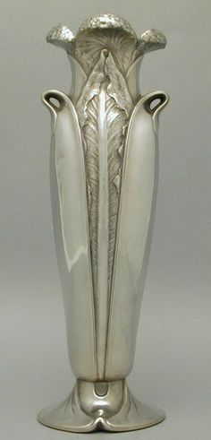 Christoffle Art Nouveau Pewter Vase. Vase for the living room or the bathroom vanity. (scheduled via http://www.tailwindapp.com?utm_source=pinterest&utm_medium=twpin&utm_content=post16557658&utm_campaign=scheduler_attribution)