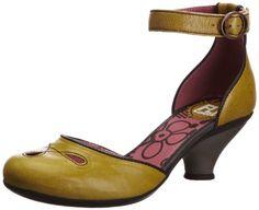 Fly London Women's Flus Ankle Strap Heels: Amazon.co.uk: Shoes & Accessories
