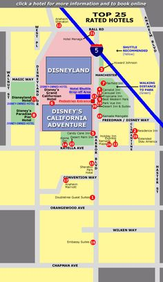 Top 25 Hotels Near Disneyland