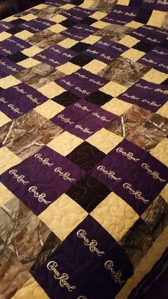 Check out this item in my Etsy shop https://www.etsy.com/listing/220429622/crown-royal-quilt-custom-made-to-order