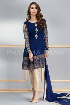 9 Ravishing and Vibrant Pakistani Formal Dresses by Phatyma Khan Online The Phatyma Khan Formal Dresses are best known for their exclusive style, creative fabric techniques, fascinating colors and prestigious look. Pakistani Wedding Dresses Online, Pakistani Formal Dresses, Pakistani Party Wear, Pakistani Fashion Casual, Pakistani Dress Design, Pakistani Outfits, Indian Dresses, Indian Fashion, Pakistani Dresses Online Shopping