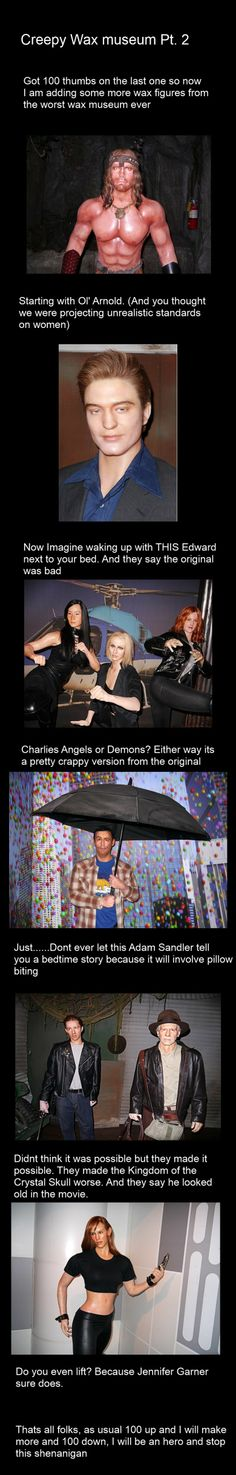 Wax museum pt:2 // funny pictures - funny photos - funny images - funny pics - funny quotes - #lol #humor #funnypictures