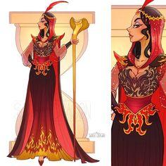 Dressed as villains princesses disney
