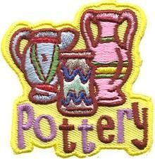Pottery fun patch. Iron-on! #68830167 | $1.50