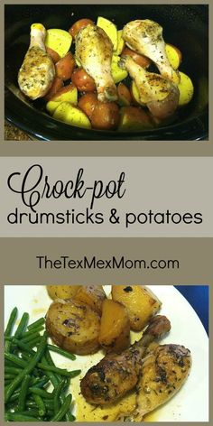 Crock-pot Drumsticks and Potatoes                                                                                                                                                                                 More