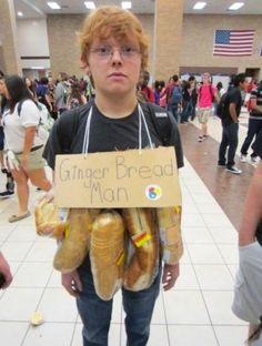 Ginger bread man! Haha ranga baby