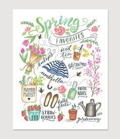 Spring Favorites - Print