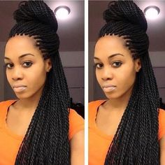 Fabulous Follow Me Twists And Senegalese Twist Hairstyles On Pinterest Short Hairstyles Gunalazisus