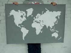 Large Modern Map - THE VAULT