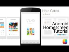"""Holo Cards (by Brian """"Thand"""" Roberts) - Android Homescreen Tutorial - YouTube"""