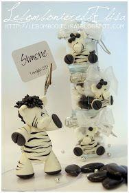 LebombonierediElisa: Un cake topper con zebra!