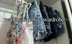Wanting a perfect wardrobe - just girly things