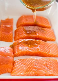 from jo cooks maple mustard glazed salmon maple mustard glazed salmon ...