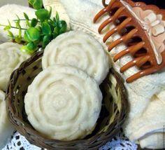 Купить Натуральное мыло-шампунь с серой для жирных и нормальных волос - мыло-шампунь