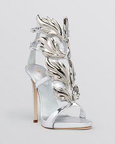 Giuseppe Zanotti Open Toe Platform Evening Sandals - Coline High Heel on shopstyle.com